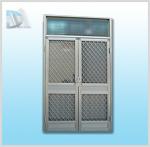 1000型雙開鋁門門組(Z)附固展紗門